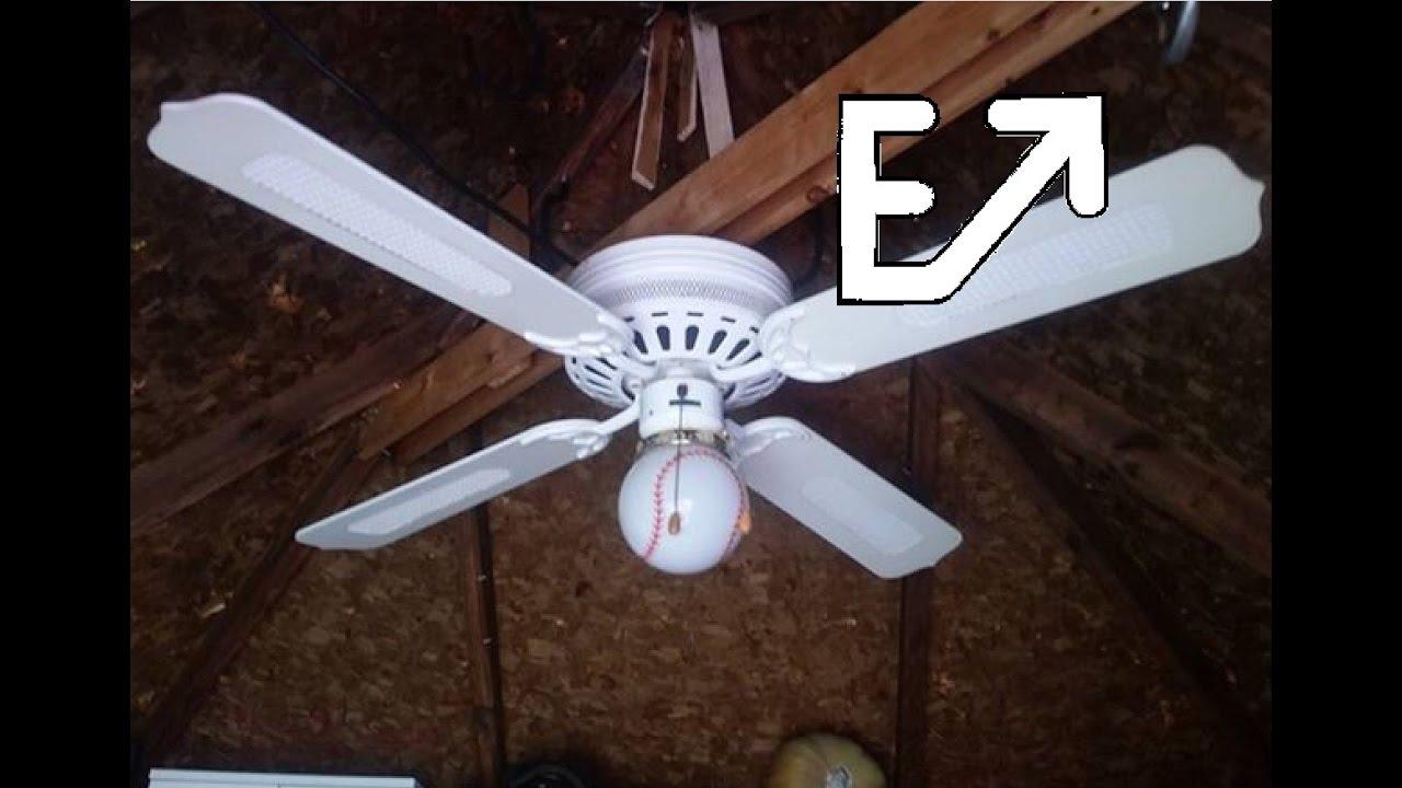 52 Montgomery Ward Evergo Ge Vent Hugger Ceiling Fan