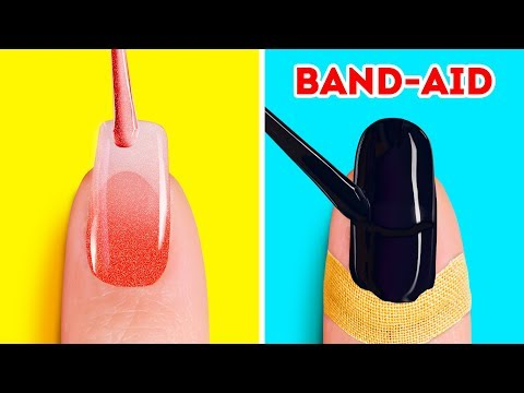 24 BEAUTY AND NAIL HACKS