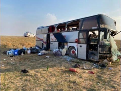 Не доехали до Петербурга: Жесткое ДТП рейсового Автобуса с КамАЗом с шестью погибшими