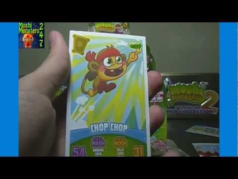 Opening a Moshi Monsters Mash Up Series 3 Code Breakers Booster Box of 50 Packs Part 1 of 3