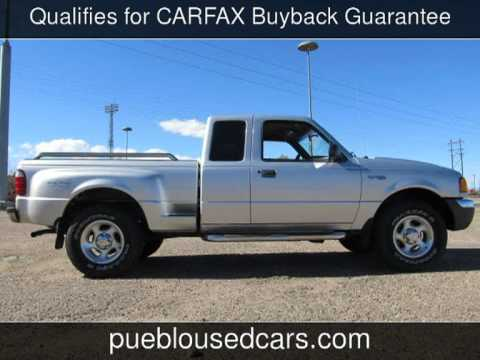 2001 ford ranger xlt ext cab 4x4 step side xlt used cars pueblocolorado 2013 10 31 youtube