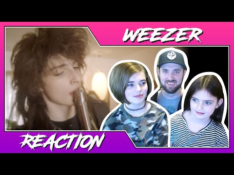 Weezer - Take On Me | Dad and Daughters Reaction | 11 Year old and 7 Year Old Girls (Music Video) Mp3