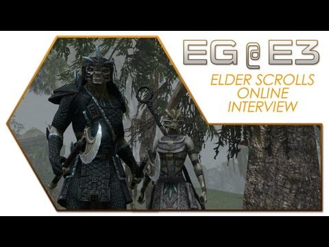 Elder Scrolls Online E3 2013 Interview with ZeniMax Online Studios