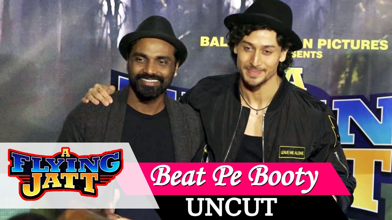 Beat Pe Booty Song Launch A Flying Jatt Tiger Shroff Remo Dsouza Jacqueline Uncut