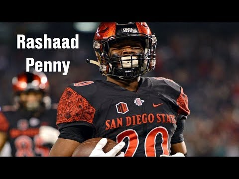 buy online bb32d 7533d Film Room: Rashaad Penny's fit with the Seattle Seahawks (NFL Draft 2018  Ep. 17)