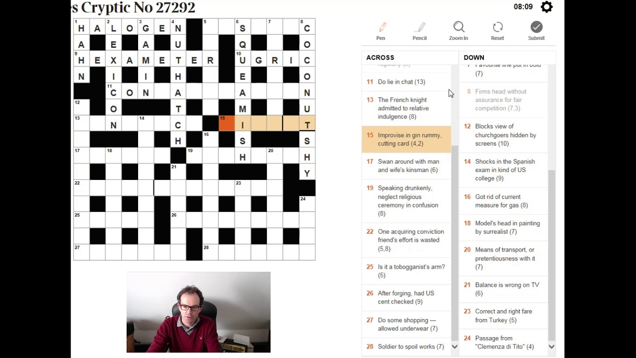 Learn To Solve A Cryptic Crossword In Just A Few Minutes Youtube