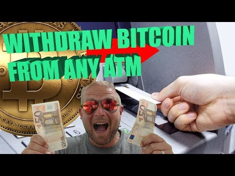 How to withdraw Bitcoin from any Cash Machine