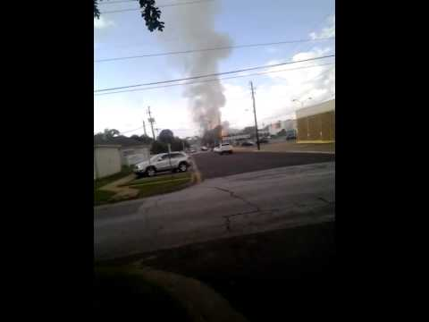 Athens tx fertilizer fire vid 1