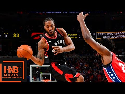 Toronto Raptors vs Philadelphia Sixers Full Game Highlights | 02/05/2019 NBA Season