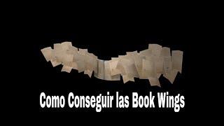 COMO CONSEGUIR LAS BOOK WINGS - Link en la descripcion vayan rapidu