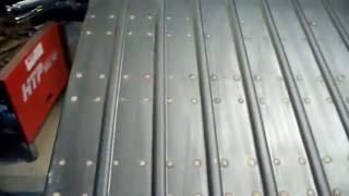 Metal Fabrication Willys CJ3B Welder Jeep Rear Floor Finished