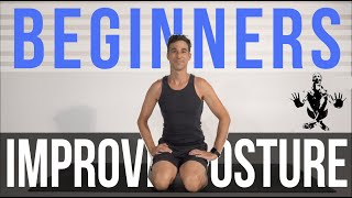 Tips - How beginners can improve posture quickly (follow along) by Jon Witt