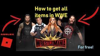 Comment obtenir tous les articles dans un événement WrestleMania à roblox