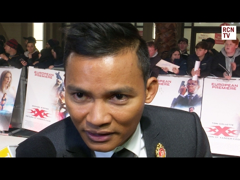 Tony Jaa Interview XXX Return Of Xander Cage Premiere