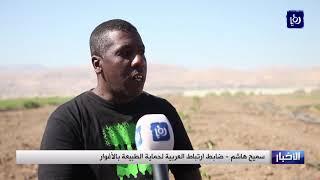 زراعة أشجار تخليدا لضحايا فاجعة البحر الميت - (2-11-2018)