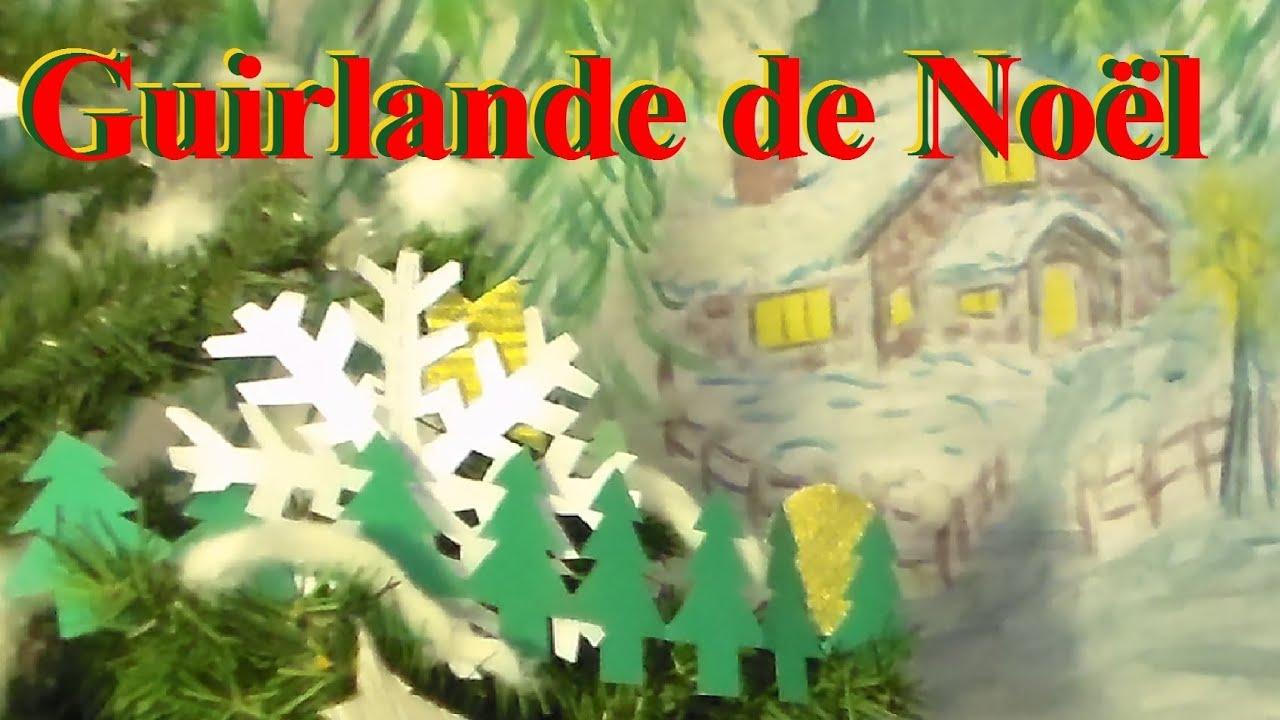 #C70704 Fabriquer Une Guirlande De Sapins En Papier Bricolage De  7610 décoration de noel à fabriquer pour adultes 1696x954 px @ aertt.com