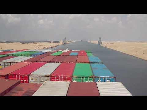 Crossing The Suez Canal, Egypt - Beautiful Experience || The Shipping Community