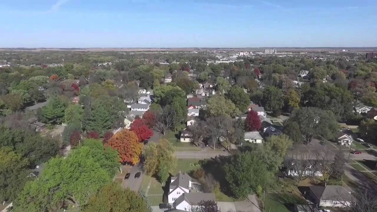 Dji Phantom 3 Drone >> Fremont, Nebraska Drone View - YouTube