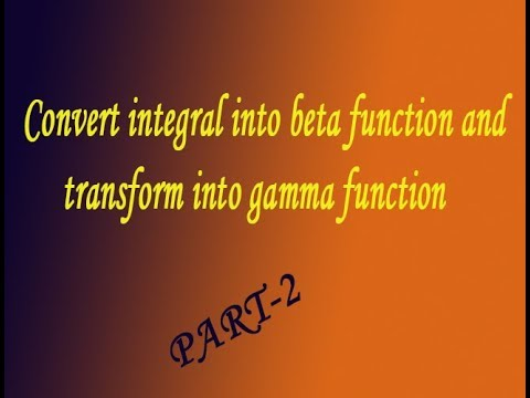 VTU Engineering Maths 2 Convert integral into beta function  transform into gamma function(PART-2)