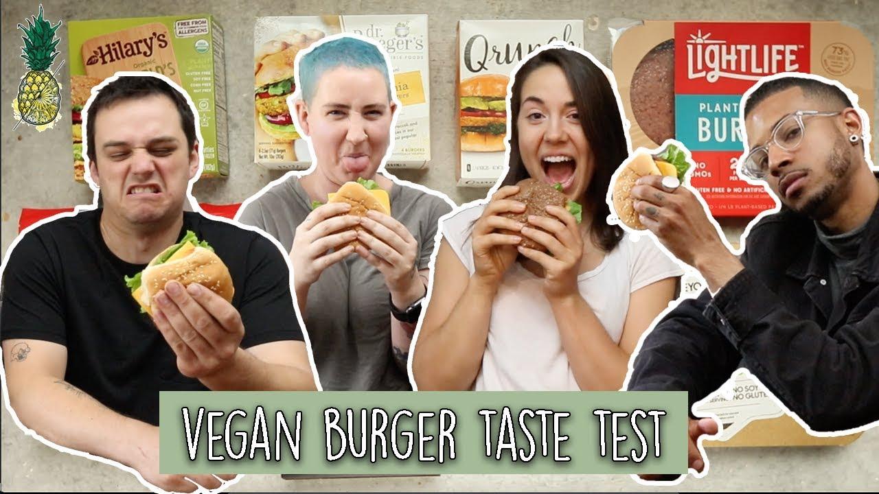 Vegans & Non-Vegans Review Vegan Burgers | The Ultimate Taste Test