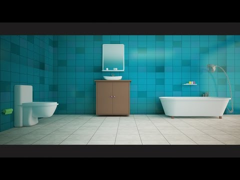 3ds Max Bathroom Modeling Texturing Vray Photorealistic Rendering Tutorial 4 Of 4 Youtube