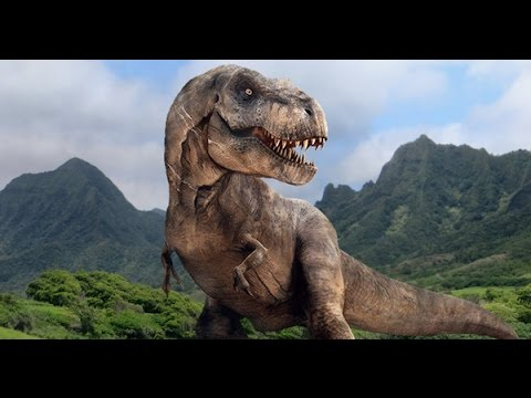 T rex le dinosaure jurassic world youtube - Dessins dinosaures ...