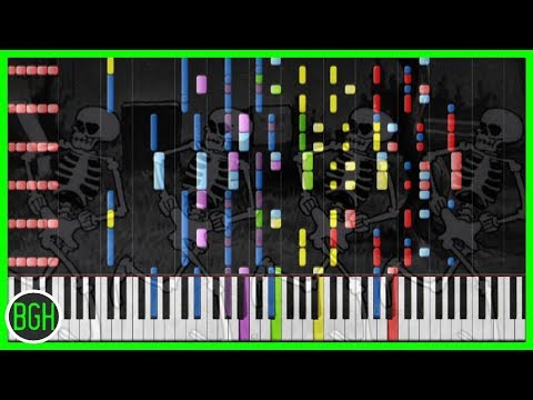 IMPOSSIBLE REMIX  Spooky Scary Skeletons