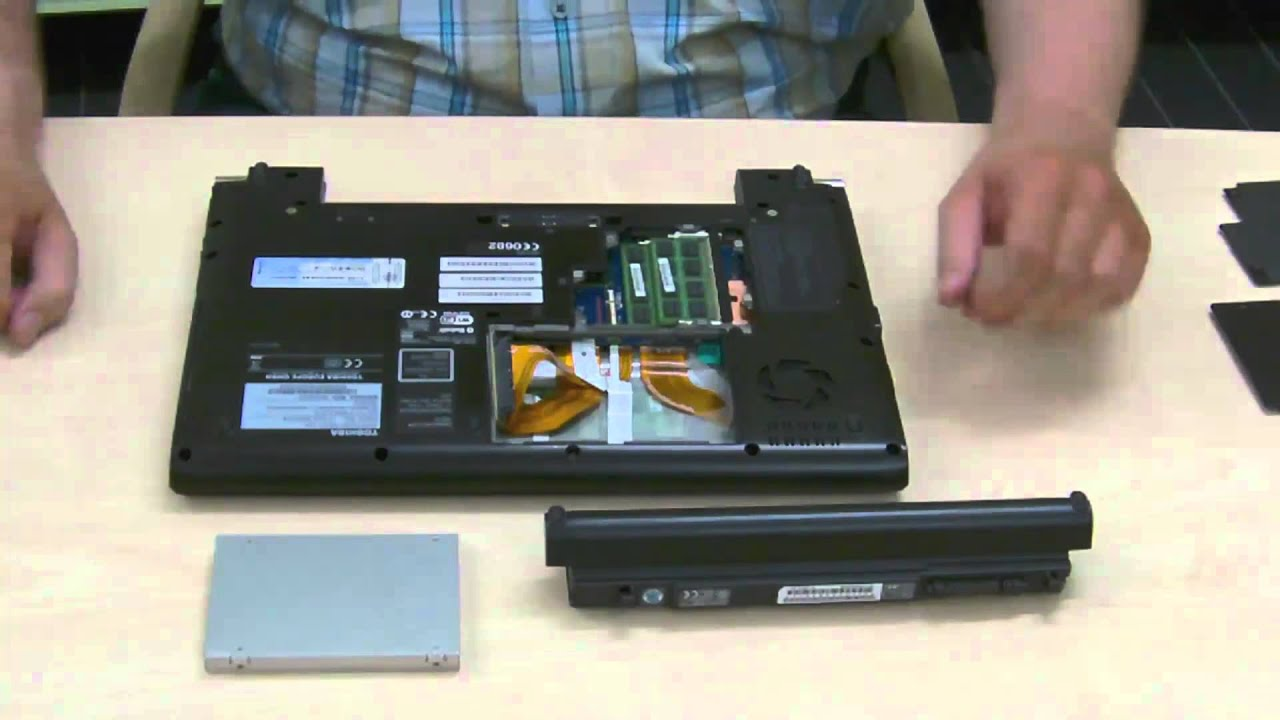 toshiba satellite hard drive replacement instructions