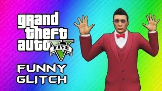GTA 5 Online Invincible Paralyzing Glitch (Funny Moments, Messing w/ Random People) thumbnail
