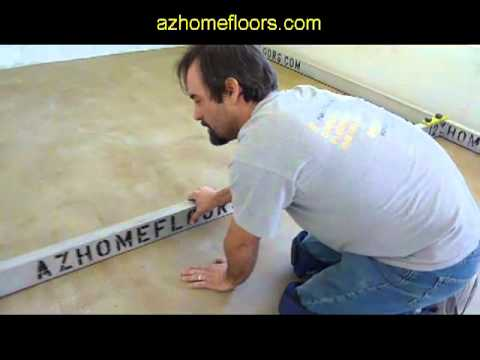 Concrete Too Un-Level For Wood Flooring?  Expert Concrete Leveling - Phoenix Hardwood Installer.