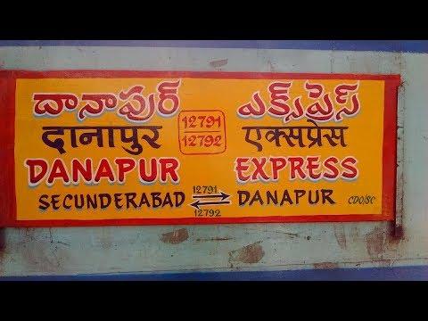 Secunderabad to Danapur superfast arrival at satna  Railway station