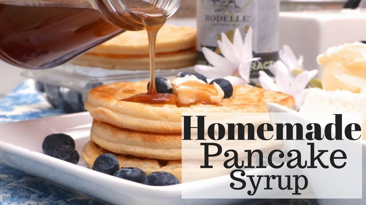 How to make homemade pancake syrup recipe butter maple youtube how to make homemade pancake syrup recipe butter maple ccuart Choice Image