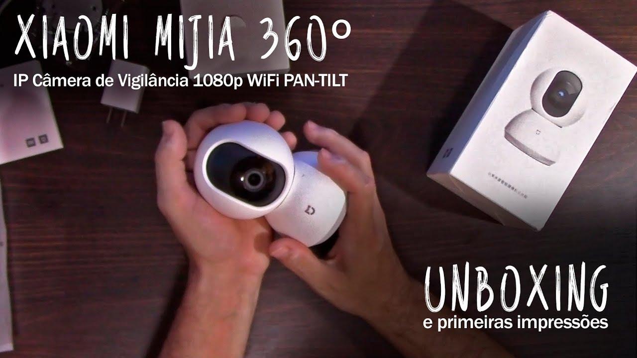 IP Câmera Xiaomi Mijia 360º 1080p WiFi #ResterTECH - YouTube