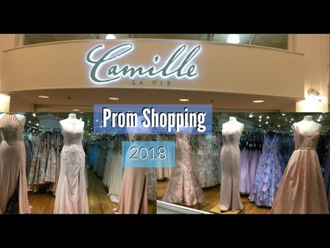 c5fbaac8bba7 Prom Dress Shopping Pt 2 | Camille la vie - YouTube