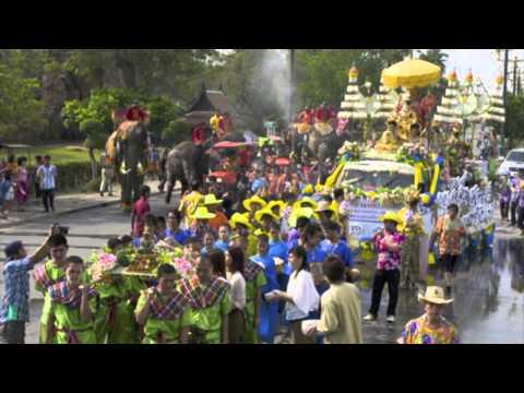 รำวงวันสงกรานต์ ✿ Thai New Year ✿ Song Karn Festival