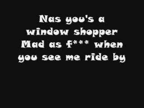 window shopper+lyrics