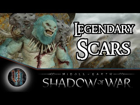 Middle-Earth: Shadow of War - Legendary Scars