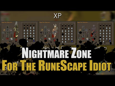 Nightmare Zone Guide For The RuneScape Idiot [Melee only]