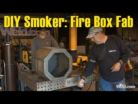 🔥 DIY Smoker Project Part 2: Fabricating the Fire Box