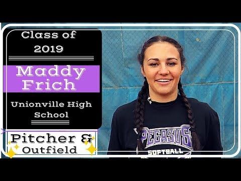 Maddy Frich - Class of 2019 - P / OF