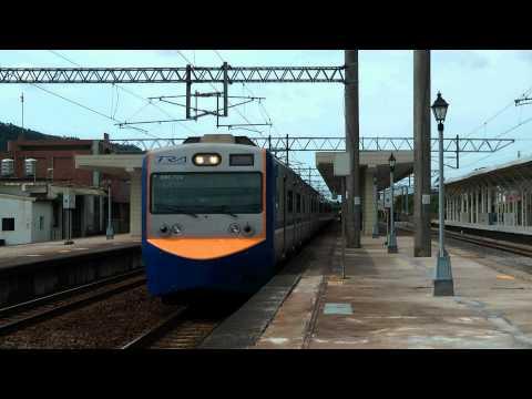[HD] The Taiwan TRA down Local Train no. 3109 (Hsinchu To Changhua) EMU 700 at the Sanyi Station