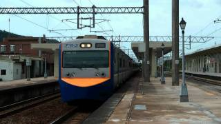 [HD] The Taiwan TRA down Local Train no. 3109 (Hsinchu To Changhua) EMU 700 at the Sanyi Station