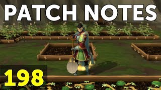 RuneScape Patch Notes #198 - 4th December 2017