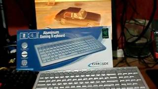 review desmascarando teclado everglide dktboard aluminium aluminum gaming keyboard
