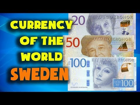 Currency Of The World - Sweden. Swedish Krone. Swedish Banknotes And Swedish Coins