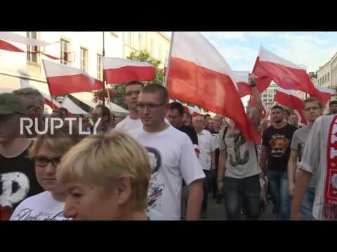 Poland: Thousands rally in capital on Warsaw Uprising anniversary