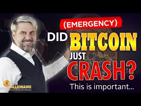 (EMERGENCY) Did Bitcoin Just Crash? This Is Important...