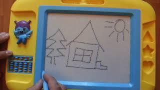 Магнитная доска для рисования.  Magnetic drawing board