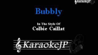 Bubbly (Karaoke) - Colbie Caillat
