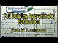 Full Eastimation of every building slab just in 2 minutes